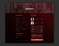Web Design for Fitness Trainer