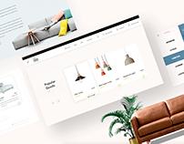 E-commerce furniture store in Miami