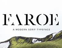 Faroe Regular | Serif Font