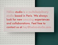 Hélico studio branding