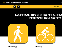 Pedestrian Safety Web and Mobile Site