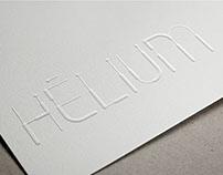 Hélium typographie