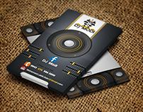 DJ Modi Card
