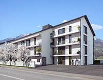 Apartment housing in Lauerz | Switzerland