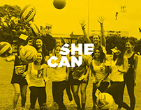 She Can :: Females in Sport