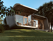 Pool House by 42mm Archtecture (3D study) (2.0)