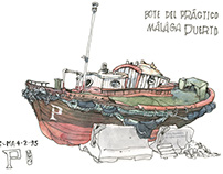 Boat sketches