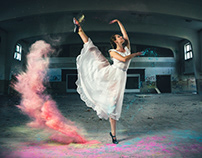 Gymnastics Girl portrait photography