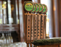 Sierra Nevada Tap Handle Design