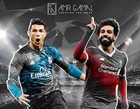 Infographic.. M.Salah and C.Ronaldo #cr7 #salah