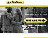 iDriveYourCar.com - Landing Page