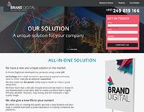 Landing Page Brand Digital