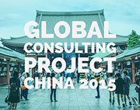 Global Consulting Project China 2015