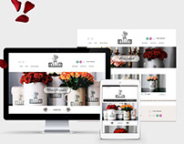 "Development of online shop for flowers ""Belleo"""