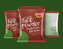 Swad Rice Powder Package