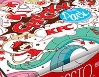 KFC CHICKY PACK ILUSTRACIÓN