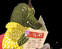 animaux - tablette graphique