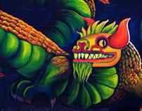 Mural Quetzalcoatl
