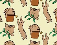 Cat Pattern Design