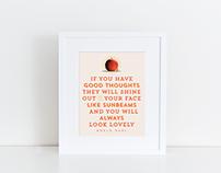 Roald Dahl Quote Posters