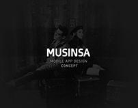 MUSINSA App Design - Concept