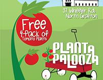 Plant-A-Palooza Flyers
