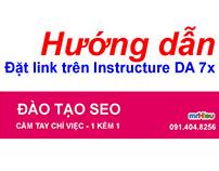 Hướng dẫn đặt Link trên instructure DA 77