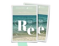 Ré magazine • Print