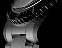 3D Animation of Maen Hudson 39mm Watch