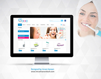 DHC Website Design