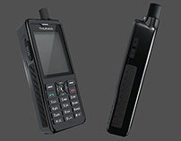THURAYA XT PRO MODELING AND ANIMATION