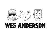 Identité visuelle // Wes Anderson