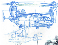Sketchbook - Aircraft