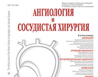 Журнал «Ангиология и сосудистая хирургия», 2013-2015