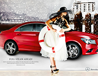 Shine mercedes advertorial