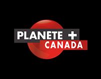 Planète+ Canada | TV channel responsive website