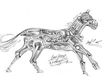 "Drawing ""One Horse Power"""
