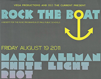 Rock The Boat – Event Branding and Poster Design