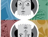 Shakespearean Card Deck WIP