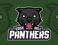 Edge Hill Panthers Logo Design