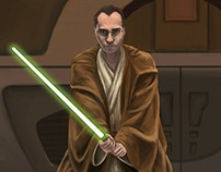 PS paint - Jedi master