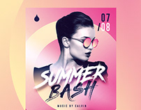 Summer Bash Flyer