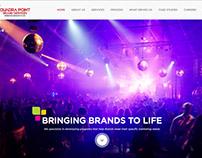 Quadrapoint Website Design