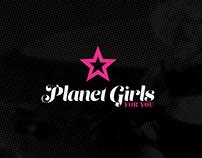 Planet Girls | Rebranding