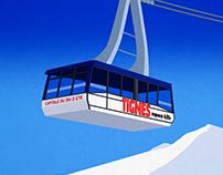 Tignes Ski Resort Poster