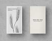 Cheff businesscard design