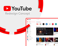 YouTube Redesign Concept by SPEC INDIA
