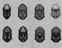 Mech-Suit Concepts : Helmet