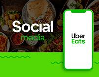Social Media / Uber Eats