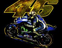 ilustração moto